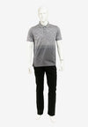 Mercerized Cotton Polo neck Tee - 16520010