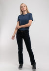 Ladies Straight Cut Stretchable Denim Jeans - 810360