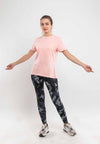 Ladies Camouflage Yoga Training Performance Legging - 810432