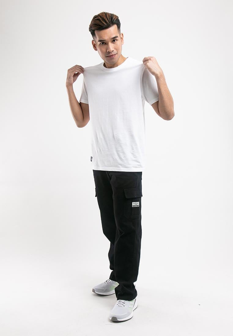 100% Cotton Twill Stretchable Cargo Long Pants - 10669
