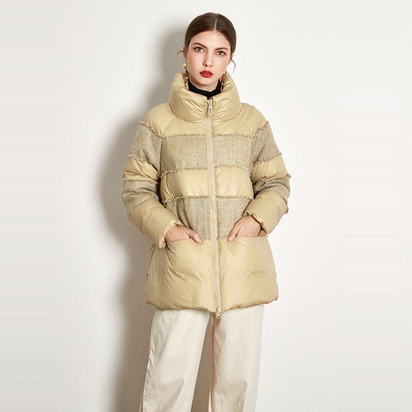 Buy Cheap Short Stitching Down Jacket Online - SunLify