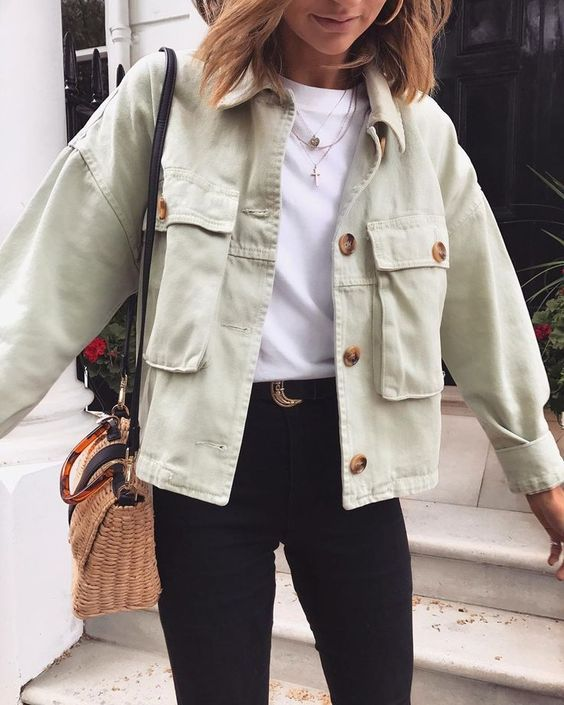 Buy Cheap Women Fashion Coats Button pocket design loose Irregular punk outerwear Online - SunLify
