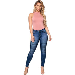 Spring Autumn jeans women mom jeans pants fashion casual skinny jeans Mid waist push up plus size boyfriend jeans for women - SunLify