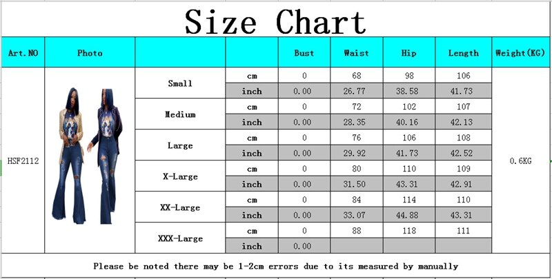 Buy Cheap Fashion High Waist Denim Flare Pants Women Retro Ripped Jeans Wide Leg Trousers Ladies Casual Bell-Bottoms Female Skinny Jeans Online - SunLify