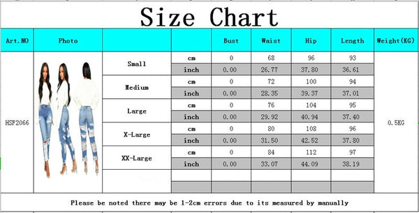 Buy Cheap Women high waisted jeans Casual Pencil denim pants Sexy Hole Ripped calca jeans Stretch Push Up Skinny Trousers boyfriend jeans Online - SunLify