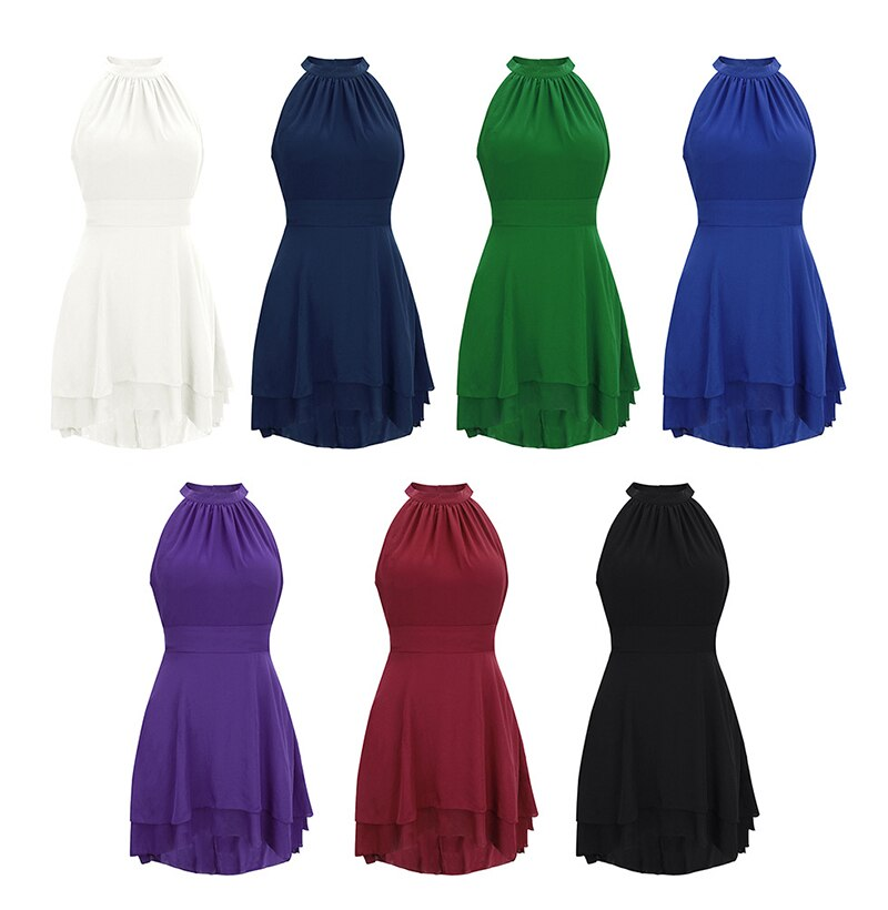 Plus Size Dress Elegant Women White Mini Dresses Black Summer Backless Ladies Fitted Clothing  Green Womens Clothes - SunLify