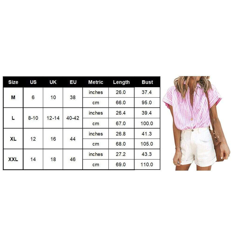 Buy Cheap Elastic Knit Soft Summer Loose Women Shirt Casual Office Short Sleeve Online - SunLify