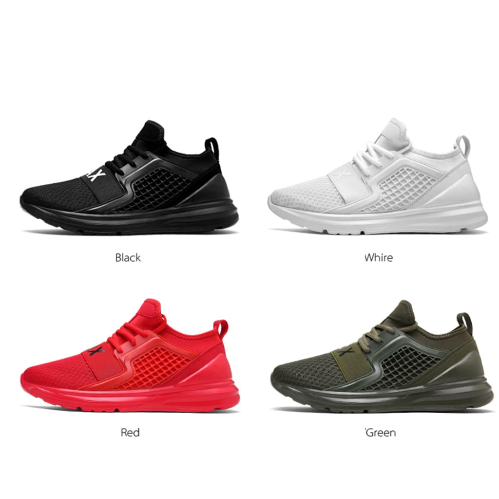 Mens Sports Shoes Breathable Mesh Casual Light Fashion Large Size