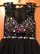 Load image into Gallery viewer, Black Short Prom Dress - RS004