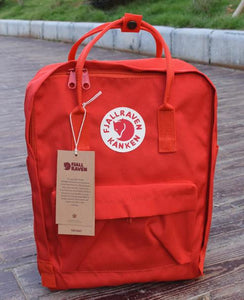 7/16/20L backpack School bag Red