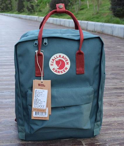 7/16/20L backpack Frost green/ Red