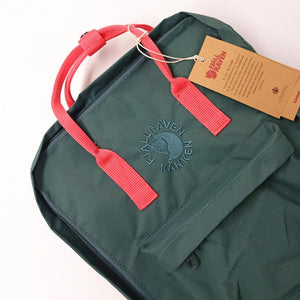 16L RE-Backpack - Frost Green/ Red