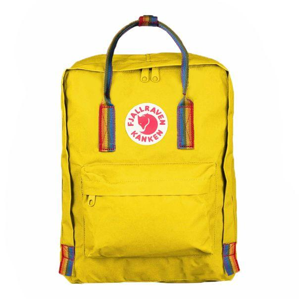 16L Rainbow Backpack Warm Yellow