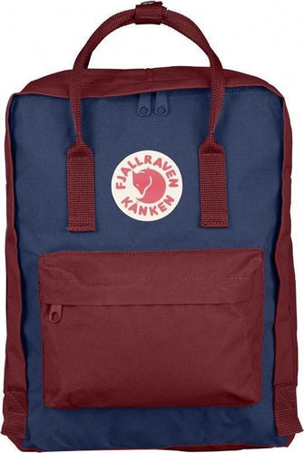 16L/Classic BackPack Brand School Bag Travel Royal Blue/Ox Red