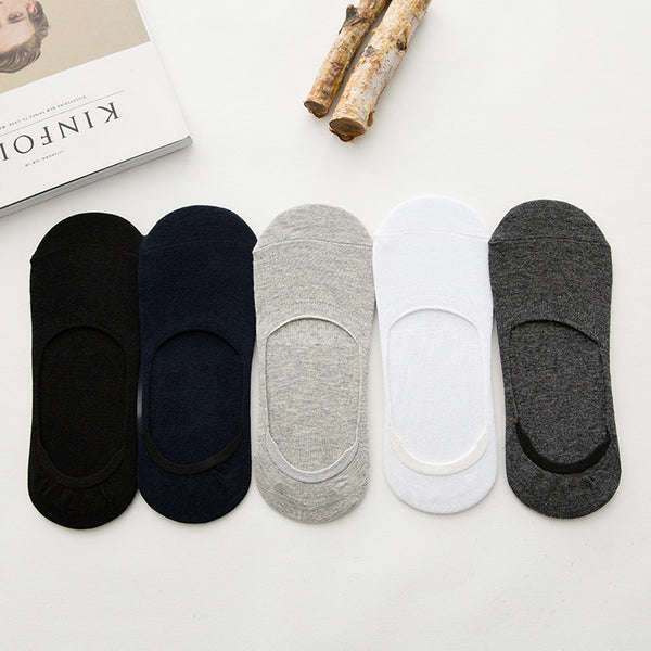 Anti-Slip Unisex Silicone No Show Socks