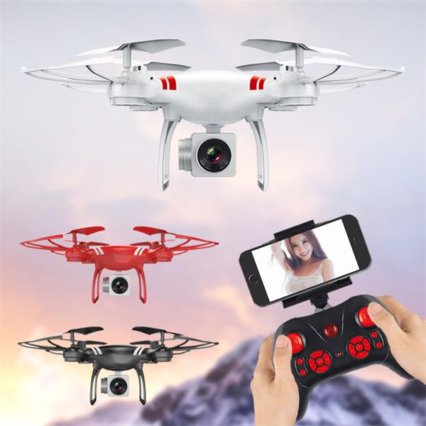KY101 RC Drone Wifi FPV HD Adjustable Camera Altitude Hold One Key  Return/Take Off RC Quadcopter Drone