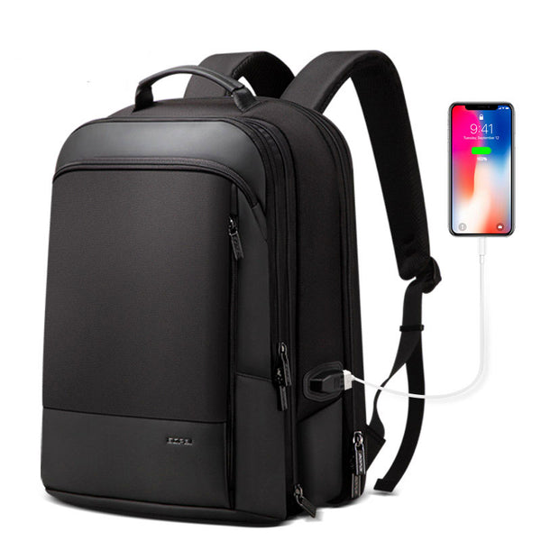 Backpack 2 in 1 Men's Backpack Travel Business Removable Thin Laptop Backpack 15.6""