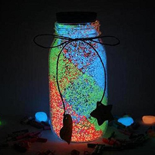 Fluorescent Glow in the Dark Bright Luminous Power without Wish Bottle