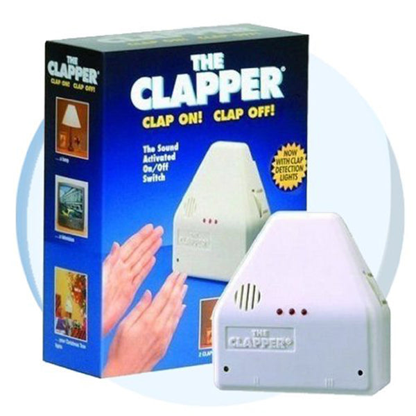 The Clapper Clapper Sound Activated On / Off Switch Clap On, Clap Off!