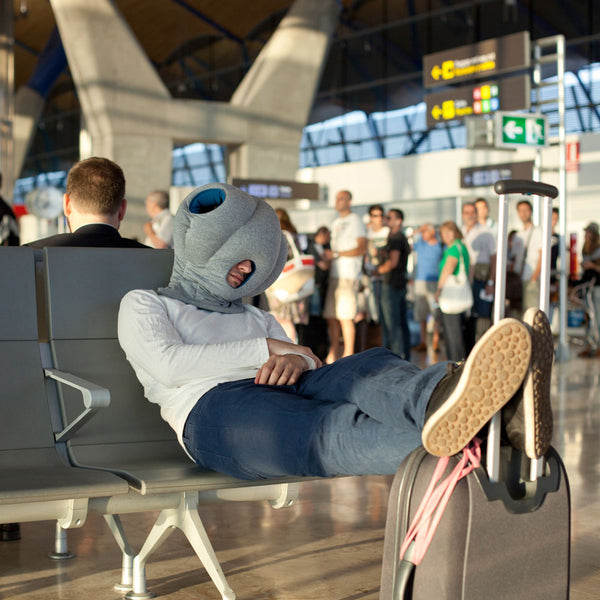 The Ostrich Napping Original Travel Pillow