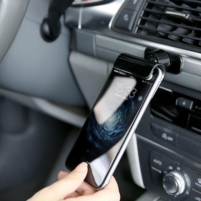 Universal Stick-on Car Dash Cell Phone Holder