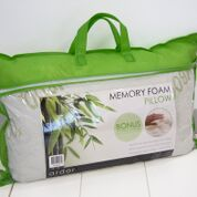 ARDOR Memory Foam Pillow With Removable Bamboo Cover