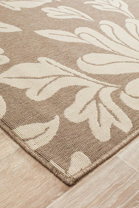 Alfresco Indoor Outdoor Collection 6511 Natural Rug