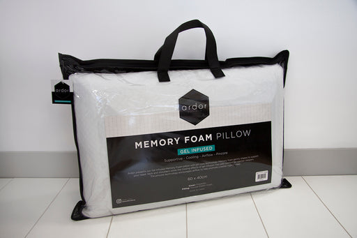 ARDOR Gel Infused Memory Foam Pillow