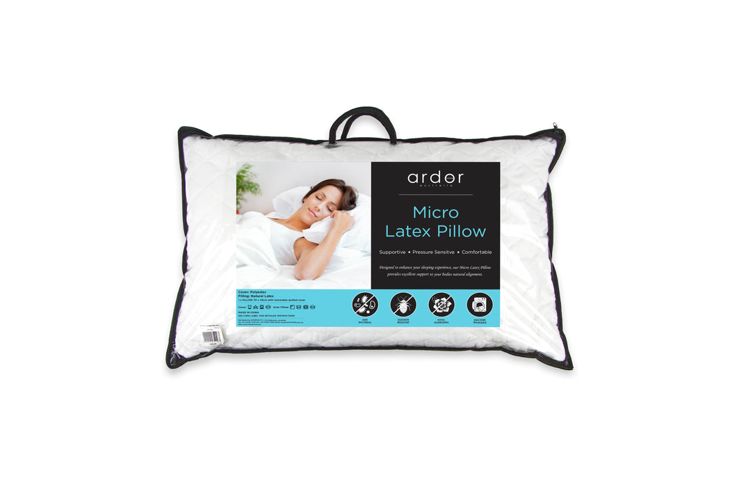 ARDOR Micro Latex Pillow