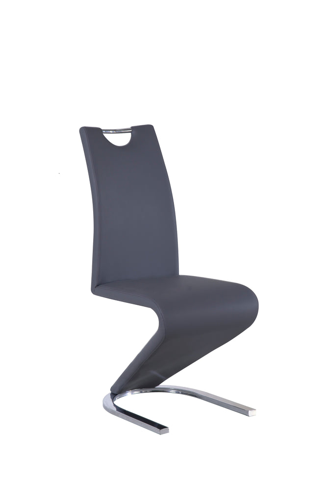 Baron Chair In Black Leather Look