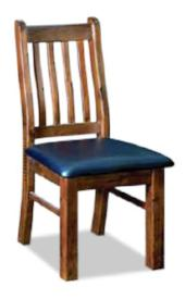 Barossa Dining Chair with Upholstered Seat