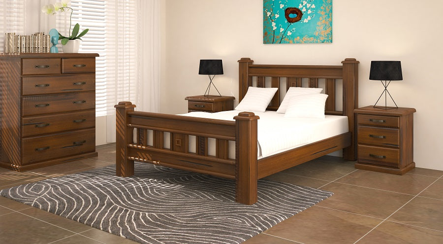 Barossa Queen Tallboy Bedroom Suite