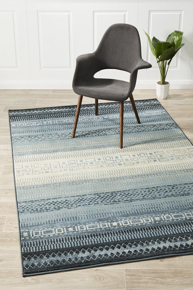 Calypso Collection 6102 blue Rug
