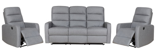 Chadwick 3 Piece Electric Recliners Suite