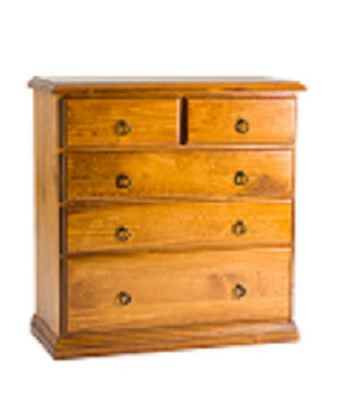 Cronulla 5 Drawer Tallboy