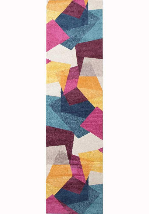 Dimensions Divinity Fragments Multi Modern Runner Rug
