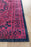Eternal Whisper Vision Magenta Runner Rug