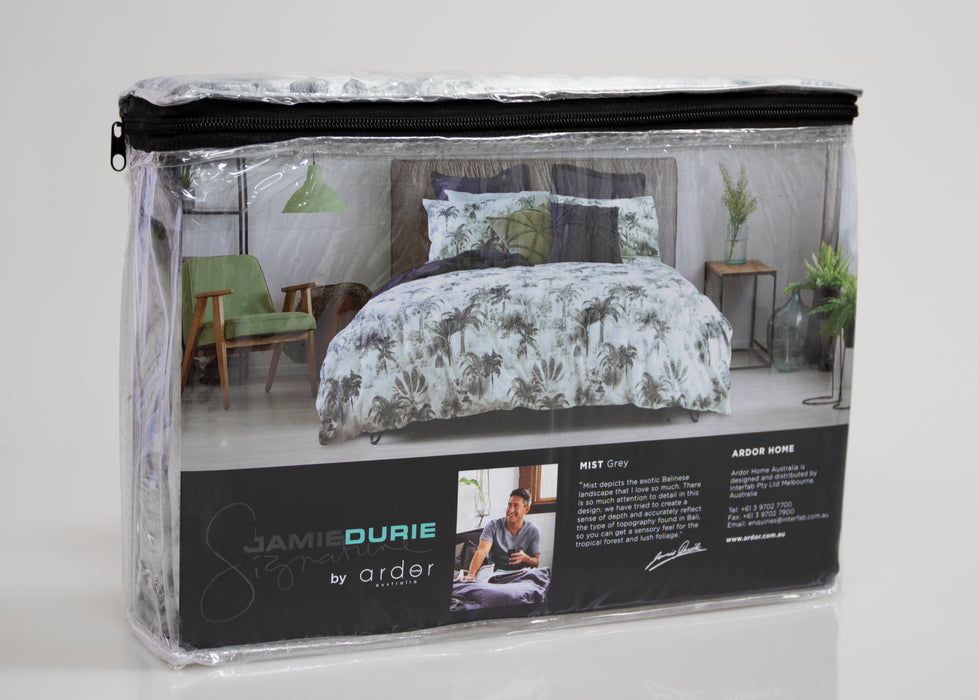 JAMIE DURIE Mist Quilt Cover Set