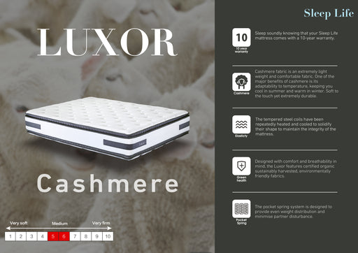 Luxor Two Sided Pillowtop Mattress