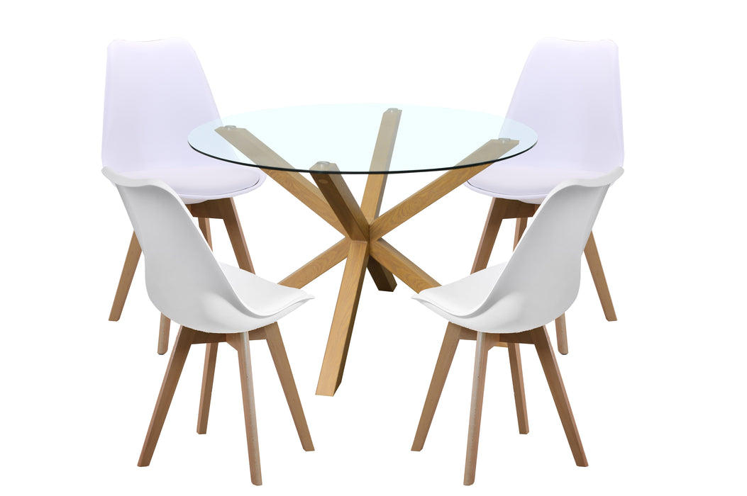 Panama 5 Piece Dining Set