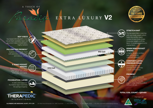 Paradise Extra Luxury V2 Plush Mattress