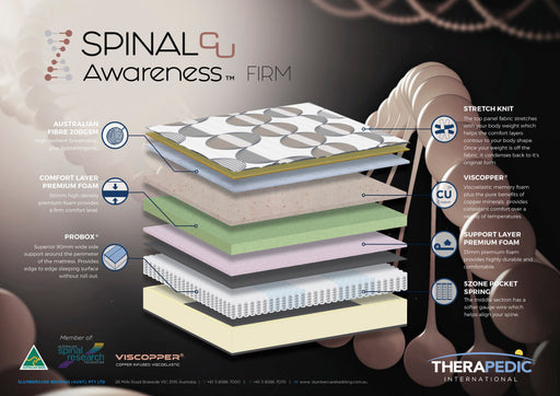 Spinal Awareness Firm Mattress