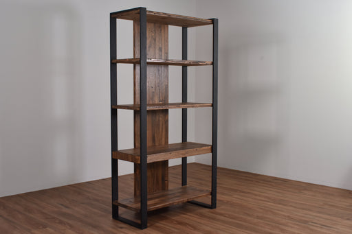 Iron Bridge Bookcase With Shelves