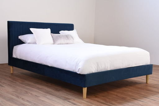 Marlo Queen Velvet Bed