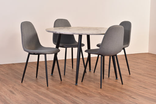Metro 5 Piece Round Dining Set