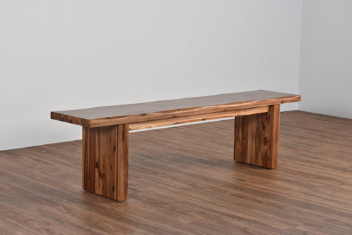 Bennet Live Edge Bench