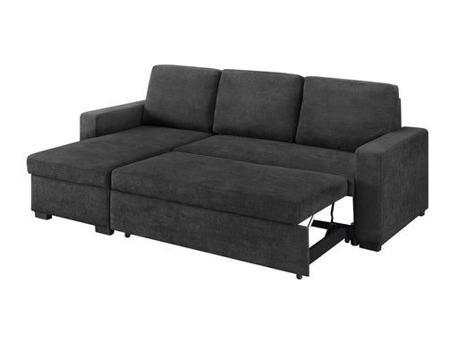 Hugo Storage Chaise Lounge With Pull Out Sofa Bed