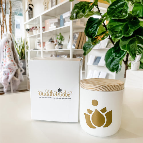 Buddha Babe Candle- Milk & Honey