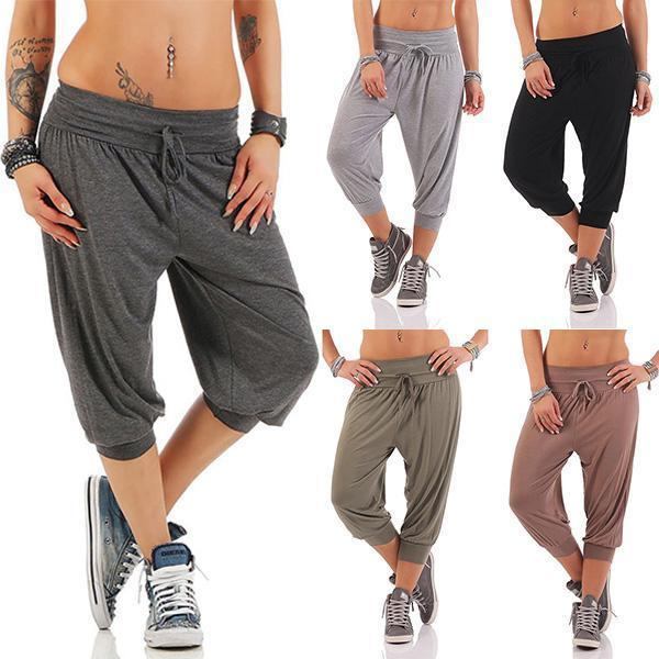 Casual Loose Harem Jogger Yoga Pants