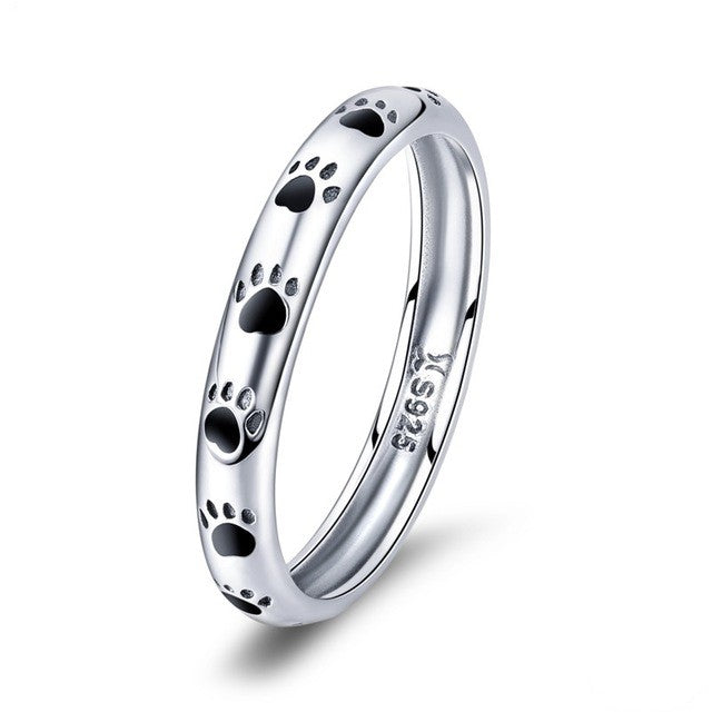 Paws Of Eternity Ring